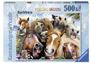 Immagine di Puzzle 500 pz Selfie in fattoria