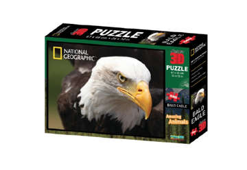 Immagine di Puzzle 3D Nat Geo: Amazing animals - Bald eagle