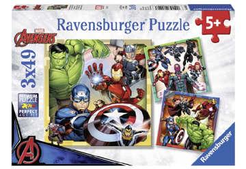 Immagine di Puzzle Avengers 3x49 pz