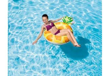 Immagine di Salvagente ananas 117x86cm