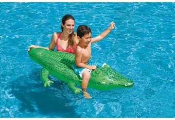 Immagine di Cavalcabile alligatore 168x86cm