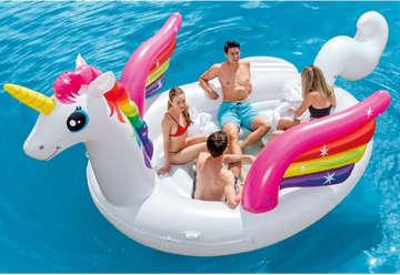 Immagine di Isola party unicorno 503x335x173cm