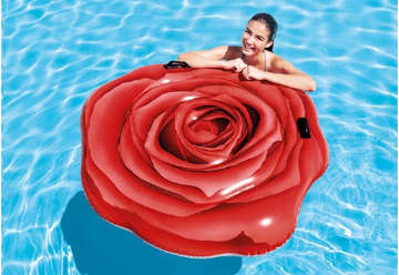 Immagine di Materassino rosa rossa 137x132cm