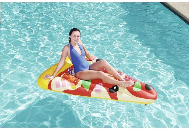 Immagine di Materassino pizza party 188x130cm