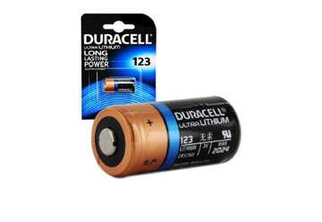 Immagine di Duracell al litio DL 123 3V