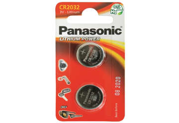 Immagine di Blister 2 micropile a litio panasonic cr2032