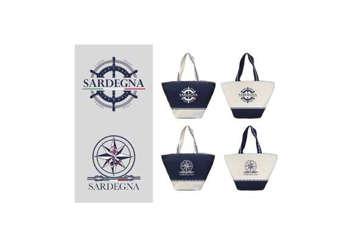 Immagine di Borsa mare Sardegna 52x33cm