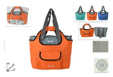Immagine di Double bag free-go: borsa termica + borsa shopper 45l