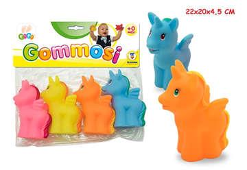 Immagine di Gogo - Gommosi unicorni colorati 4pz