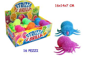 Immagine di Strizza e brilla ragnetto con luce 4 colori