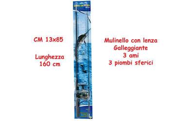 Immagine di Canna da pesca 160cm con mulinello