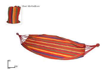 Immagine di Amaca colorata con sacca 200x80cm