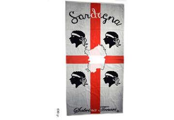 Immagine di Telo Mare 4 Mori Sardegna 90x170cm 630gr
