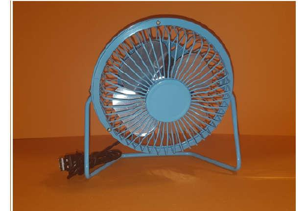 Immagine di Mini Ventilatore portatile in metallo