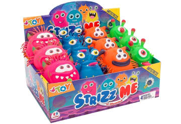Immagine di Strizz me - Mostri alieni con luce led colori assortiti
