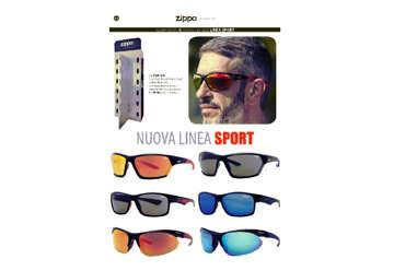 Immagine di Espositore 6 occhiali da sole Zippo sport