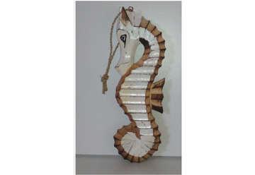 Immagine di Cavalluccio legno da appendere 25cm
