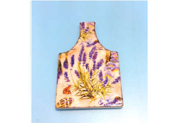 Immagine di Tagliere legno e ceramica 13x22