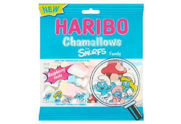 Immagine di Haribo Chamallows Puffi family 100gr