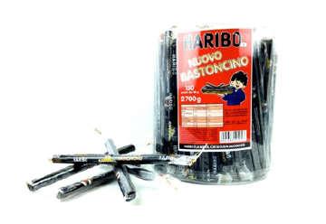 Immagine di Haribo bastoncino liquirizia 18gr box 150pz