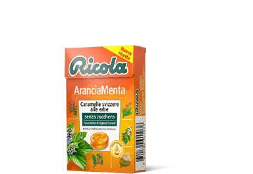 Immagine di Astuccio Ricola Arancia Menta 50gr
