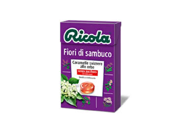 Immagine di Astuccio Ricola Fiori di Sambuco 50gr