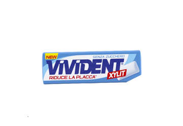 Immagine di Vivident Xylit spearmint stick box 40pz