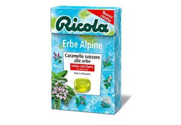 Immagine di Astuccio Ricola Erbe Alpine 50gr