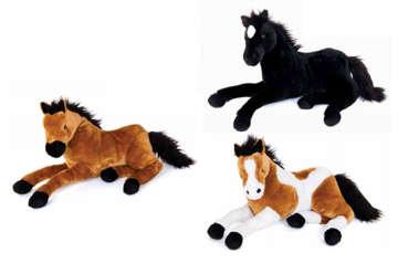 Immagine di Cavallo 55cm 3colori assortiti
