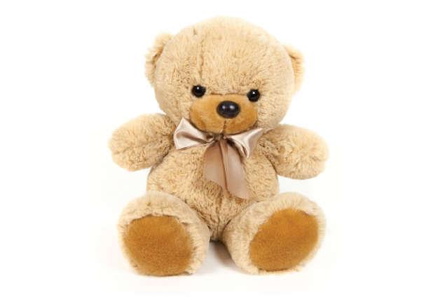 Immagine di Orso marrone con fiocco 30cm