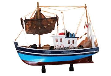 Immagine di Barca legno 38cm