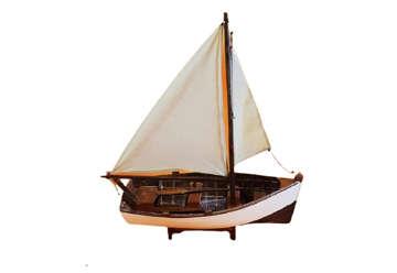 Immagine di Barca legno 41x18x8cm
