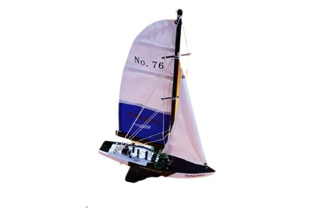Immagine di Barca legno vela skipper-americans