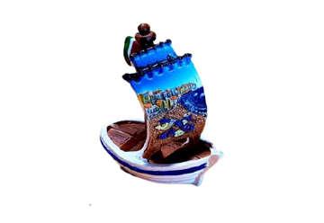 Immagine di Barca resina piccola 8.5cm