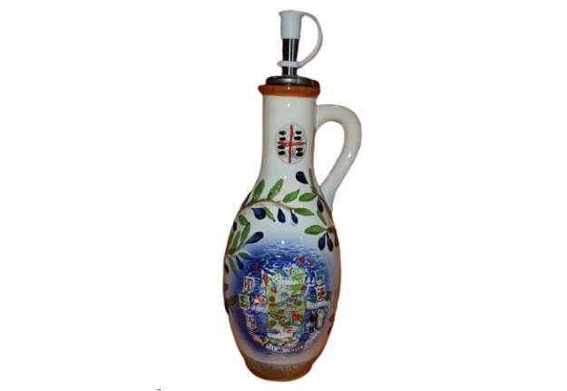 Immagine di Bottiglia porta olio Sardegna H 22cm