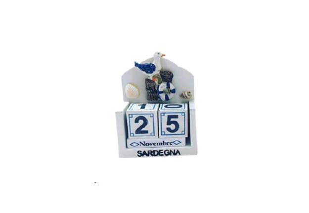 Immagine di Calendario da tavolo Sardegna