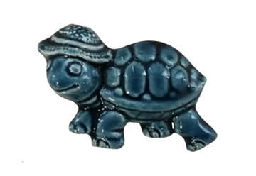 Immagine di Magnete ceramica tartaruga blu
