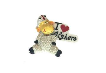 Immagine di Magnete pecorella I love Alghero