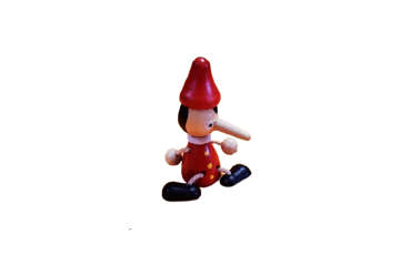 Immagine di Magnete Pinocchio in legno