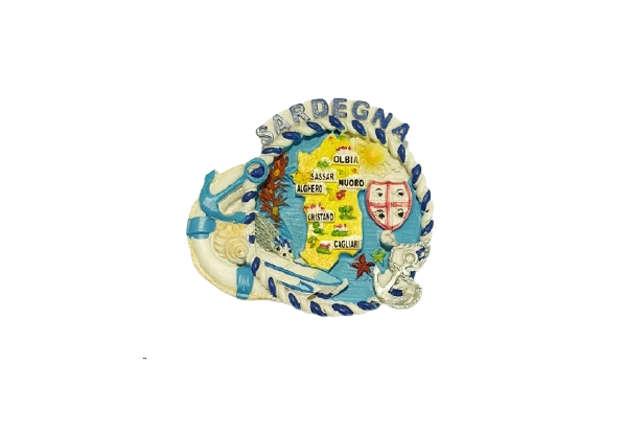 Immagine di Magnete Sardegna mappa e salvagente