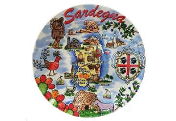 Immagine di Piatto ceramica Sardegna 15cm