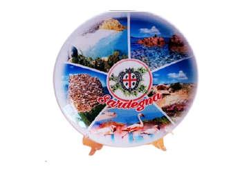 Immagine di Piatto Sardegna in ceramica 20cm