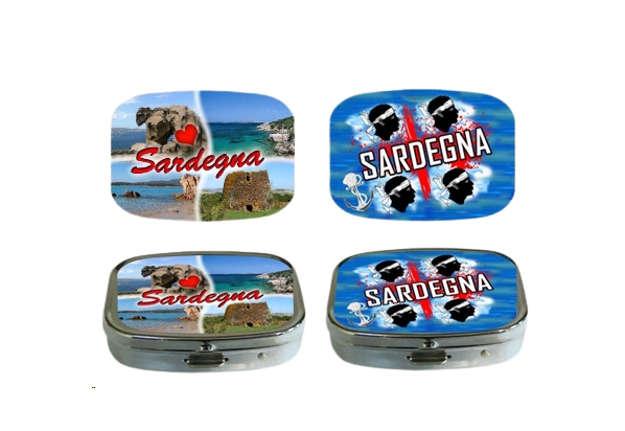 Immagine di Portapillole rettangolare Sardegna 5.5x4cm
