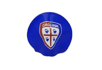 Immagine di Cuffia nuoto in silicone blu Cagliari 1920