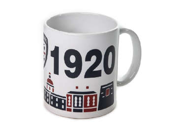"Immagine di Tazza mug ""skyline"" Cagliari 1920"