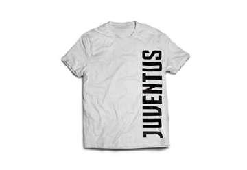 "Immagine di T-Shirt Juve uomo bianca ""Juventus""  XL"