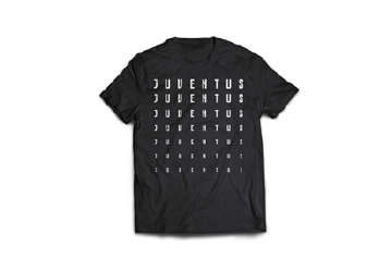 "Immagine di T-Shirt Juve uomo nera ""Juventus"" L"