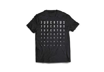 """Immagine di T-Shirt Juve uomo nera """"Juventus"""" XL"""