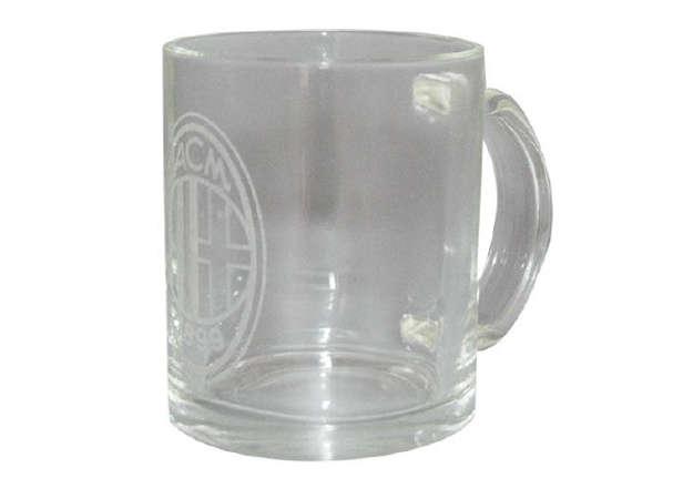 Immagine di Tazza in vetro da collezione Milan