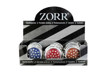 Immagine di Zorr portacenere tascabile rotondo 5cm con portachiave